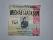 Билет на концерт Michael Jackson 1988 год