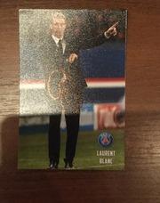 Автограф Laurent Blanc тренер фкПСЖ в полный рост.